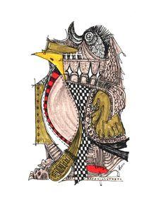 quadro-manchot-royal