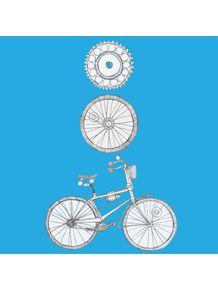 quadro-vou-de-bike-azul