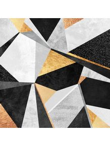 quadro-geometry-gold