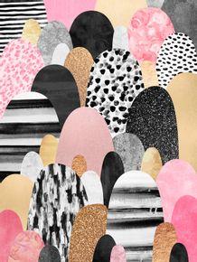quadro-pink-pebbles