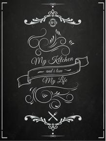 quadro-my-kitchen-my-life