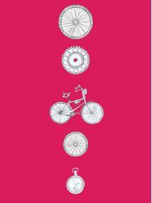quadro-vou-de-bike-pink