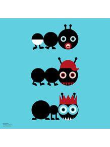 quadro-bichoque-formiga-familia