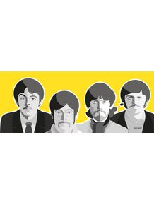 quadro-beatles-yellow