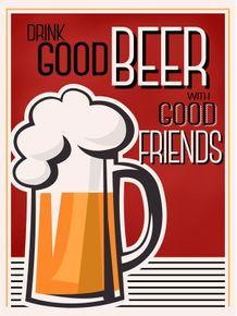 quadro-cerveja-com-amigos