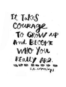 quadro-courage