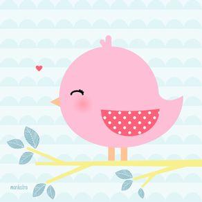 quadro-passarinhoo