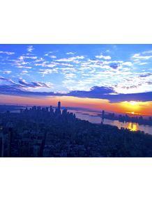 quadro-ny-sunset