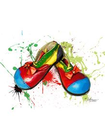 quadro-clown-shoes
