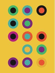 quadro-vinil-colors-yellow