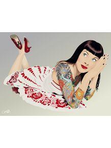quadro-tattoo-pinup