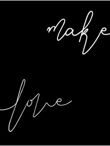 quadro-make-love-black