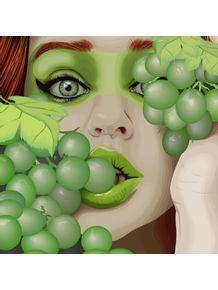 quadro-grape-woman