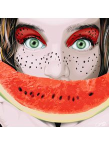 quadro-watermelon-woman