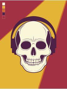 quadro-skull-on-the-floor