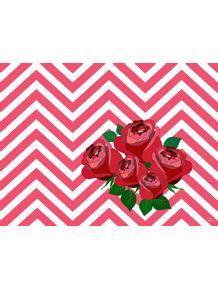 quadro-chevron-floral--rosas
