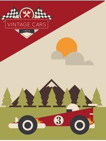 quadro-carros-geometricos--1973--vermelho