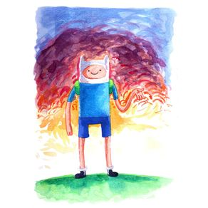 quadro-adventure-time-finn