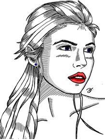 quadro-silver-woman