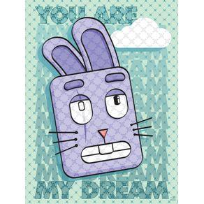 quadro-coelho--voce-e-meu-sonho
