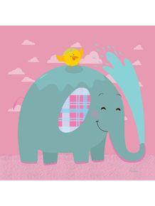 quadro-elefantinho-xadrez