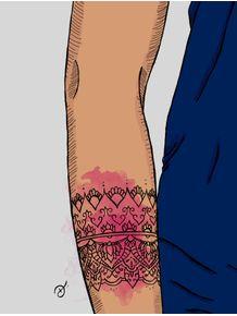 quadro-tattoo-ornamentada