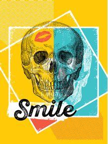 quadro-skull-smile