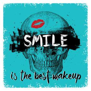 quadro-skull-smile-makeup