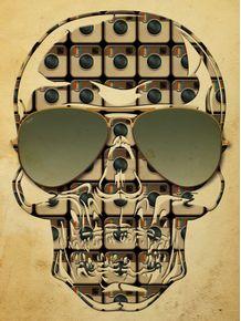 quadro-skull-instagram-ii