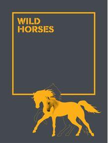 quadro-the-wild-horses