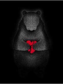 quadro-broken-love-bear