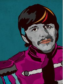 quadro-serie-rockstars-all-stars-ringo-sgt-peppers
