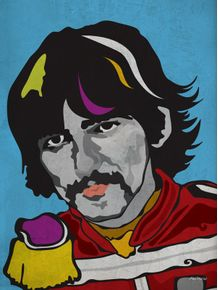 quadro-serie-rockstars-all-stars-harrison-sgt-peppers