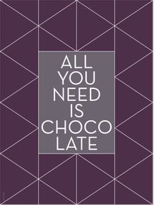 quadro-all-i-need-is-chocolate