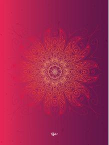 quadro-ornamento-floral