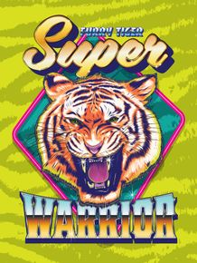 quadro-super-furry-tiger-warrior