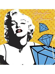 quadro-marilyn-monroe-diamonds
