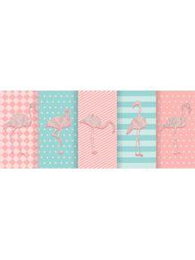 quadro-flamingos-de-papel