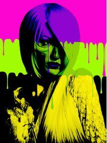 quadro-girl-skull-color