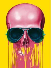 quadro-skull-drip