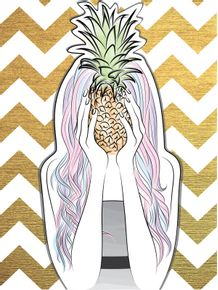 quadro-pineapple-hipster-girl