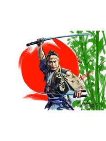 quadro-o-samurai