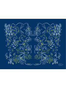 quadro-floral-lousa