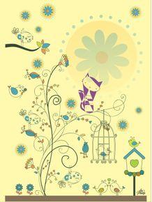 quadro-passarinhos