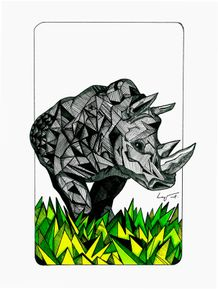 quadro-rhino-geometric