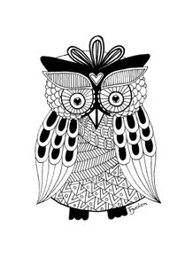 quadro-coruja-asteca