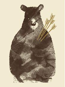 quadro-bear-in-love