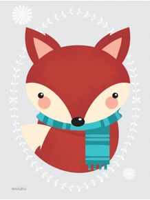 quadro-raposinha