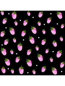 quadro-strawberries-and-dots