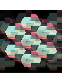 quadro-deep-hexagons